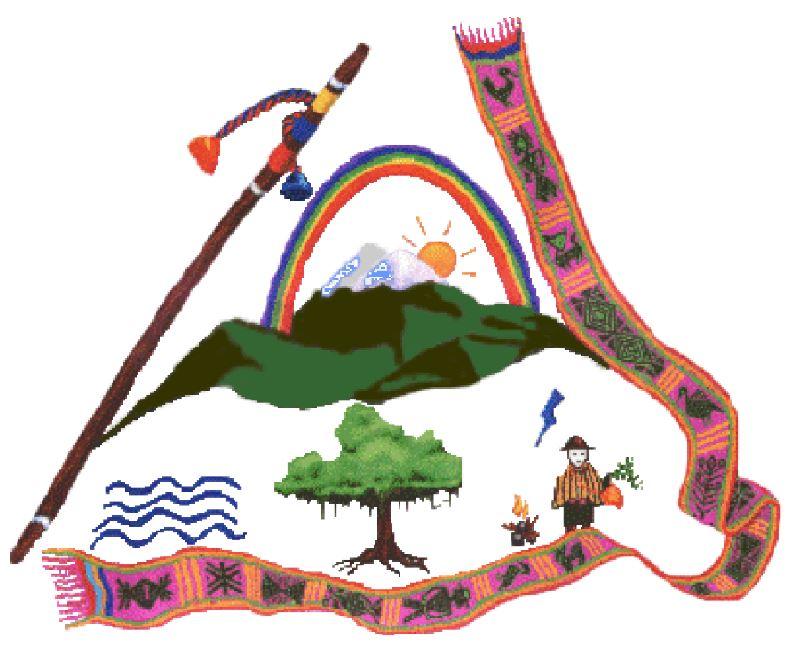 gráfica alusiva a ACIN Asociación de Cabildos Indígenas del Norte del Cauca