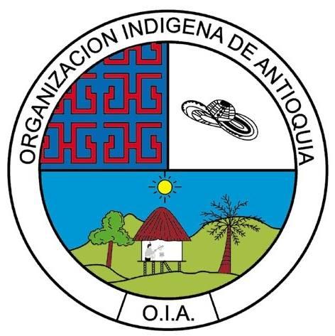 gráfica alusiva a OIA Organización Indígena de Antioquia