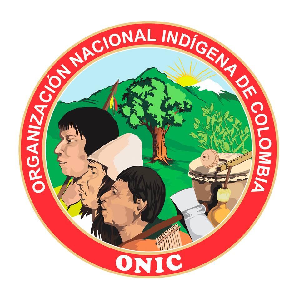 gráfica alusiva a ONIC Organización Nacional Indígena de Colombia