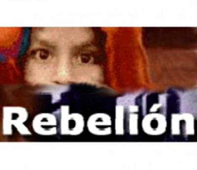 gráfica alusiva a Revista Rebelión