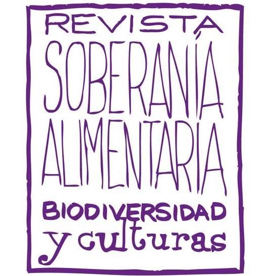 """gráfica alusiva a  Revista """"Soberanía alimentaria, biodiversidad y culturas"""""""
