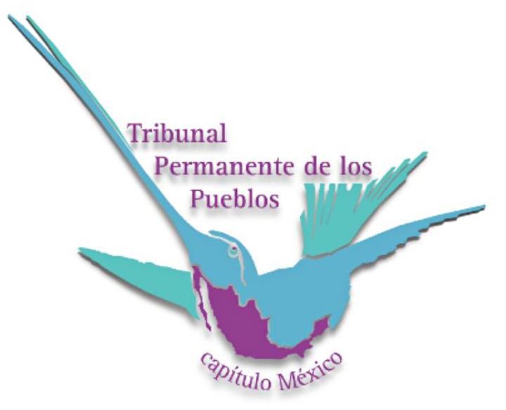 gráfica alusiva a Tribunal Permanente de los Pueblos - Capítulo México