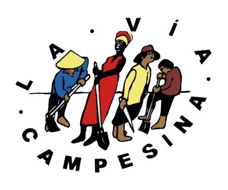 gráfica alusiva a Vía Campesina
