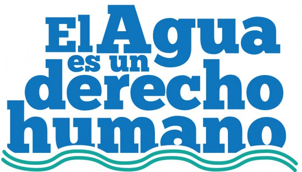 Grafica alusiva a La guerra del agua de Cochabamba – Bolivia. La movilización de todo un pueblo en defensa de un bien común