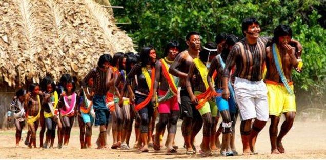 Grafica alusiva a Llamado a los indígenas que llevan la voz de nuestros pueblos