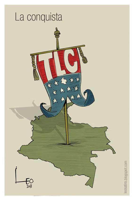 Grafica alusiva a Tratado de Libre Comercio entre Estados Unidos y Colombia. Impactos sobre la agricultura y la economía campesina