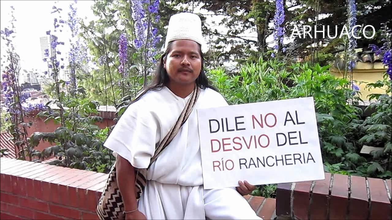 Grafica alusiva a En la mira, la privatización del río Ranchería (Guajira)