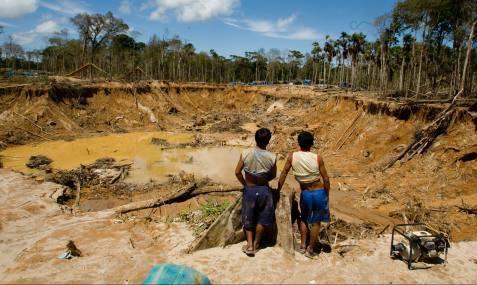 Grafica alusiva a Plan para el desarrollo minero y política del despojo