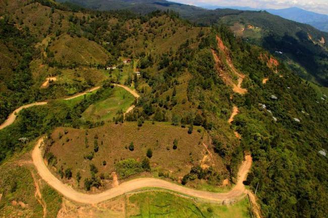 Grafica alusiva a Zonas de Reserva Campesina. ¿Alternativas para el control comunitario del territorio?