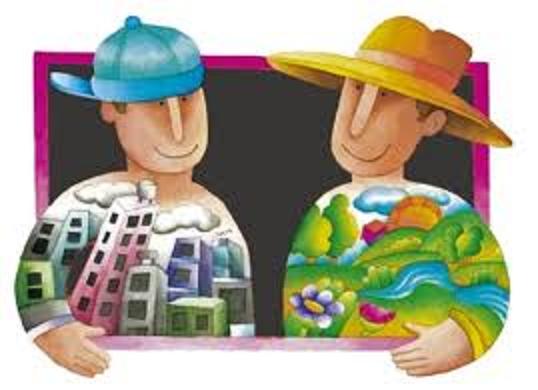 Grafica alusiva a  Diálogo campo-ciudad por la diversidad, el territorio y el mercado local de alimentos