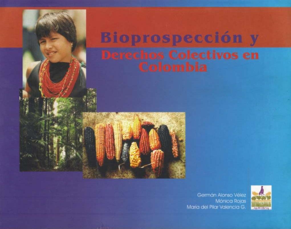 Gráfica alusiva a Bioprospección y Derechos Colectivos en Colombia