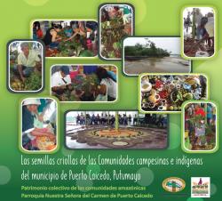 Grafica alusiva a Las semillas criollas de las comunidades campesinas e indígenas del municipio de Puerto Caicedo, Putumayo