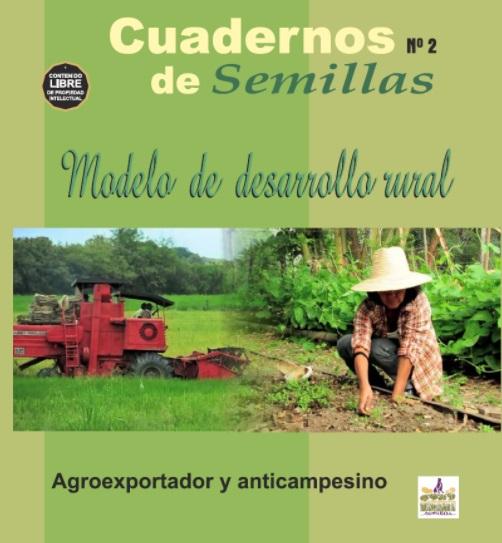 Gráfica alusiva a Modelo de Desarrollo Rural agroexportador y anticampesino