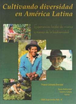 Grafica alusiva a Cultivando diversidad en América Latina. Experiencias locales de crianza y manejo de la biodiversidad