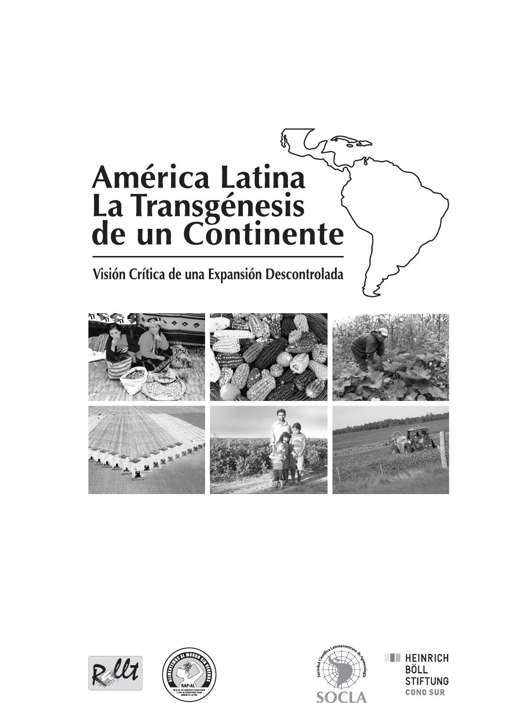 Gráfica alusiva a América Latina. La transgénesis de un continente