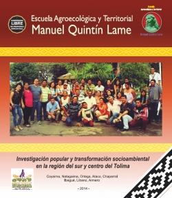 Grafica alusiva a Escuela Agroecológica y Territorial Manuel Quintín Lame