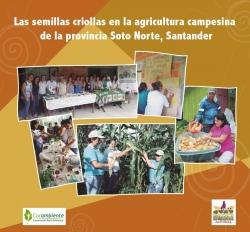 Grafica alusiva a Las semillas criollas en la agricultura campesina de la provincia Soto Norte, Santander