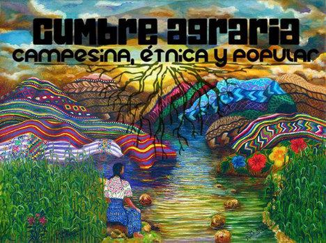 Gráfica alusiva a Comunicado Cumbre Agraria, Campesina, Étnica y Popular