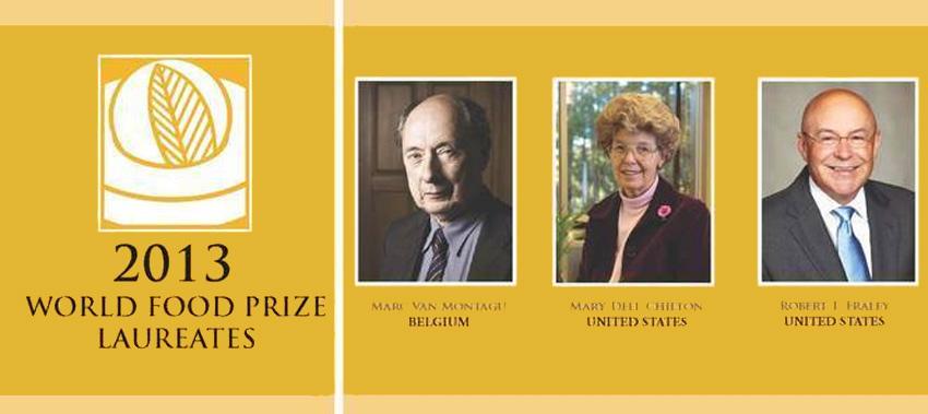 Gráfica alusiva a El Premio Mundial de la Alimentación, otorgado a ejecutivos de los transgénicos, generó indignación y consternación global